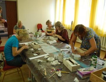 Käsitöö - ja kunstiõpetuse suvekursus 2018